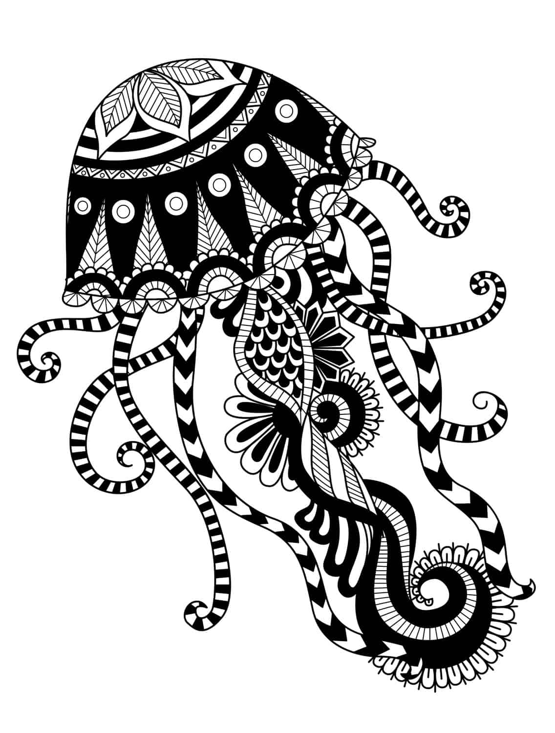 Free printable coloring pages for adults only adult coloring pages 24 - Free Printable Coloring Pages For Adults Only Adult Coloring Pages 7 Feed Jellyfish Coloring Pages Download