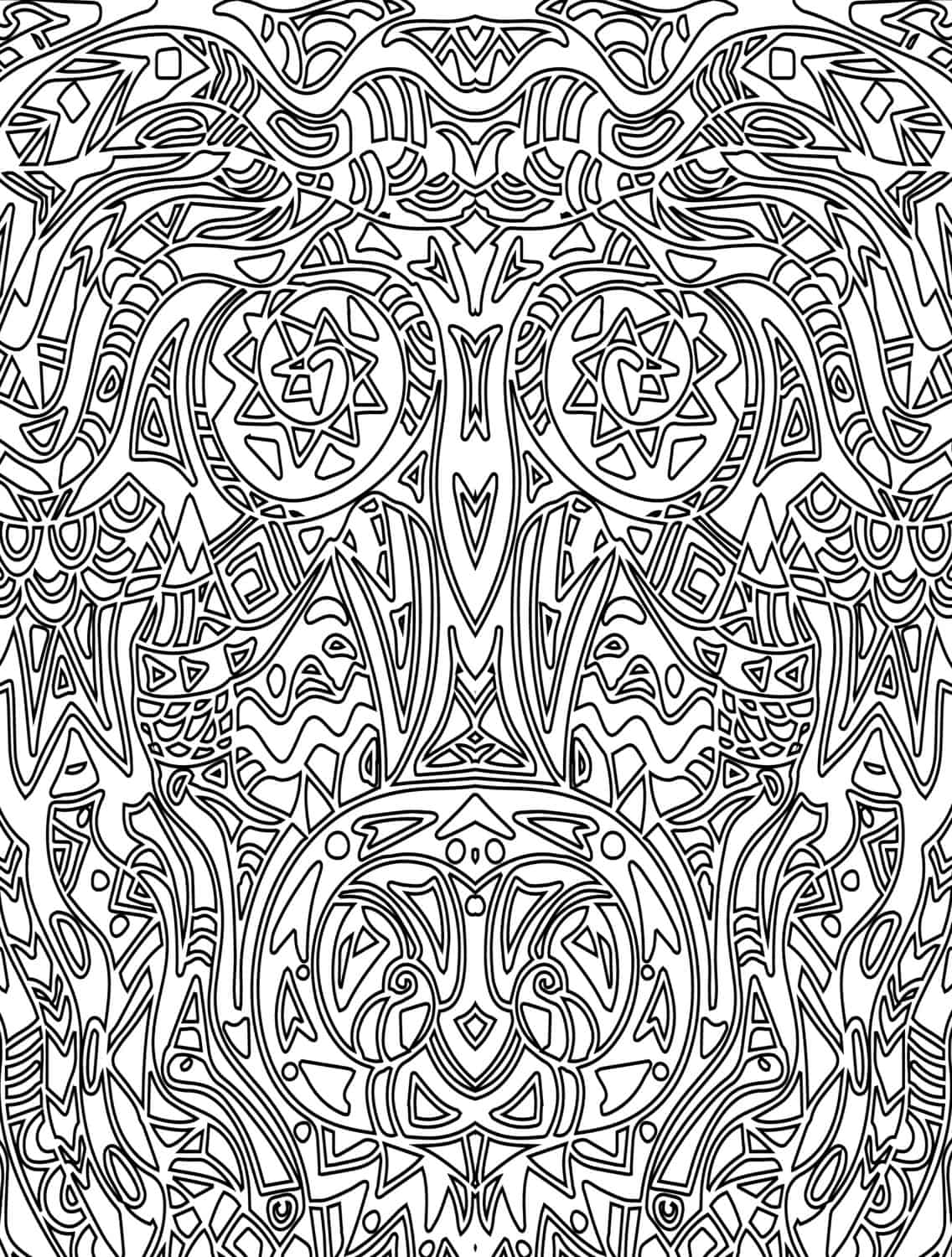 crazy coloring pages for adults - photo#29