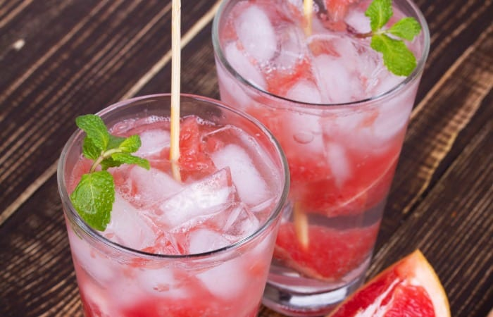 how to make a grapefruit mojito feature