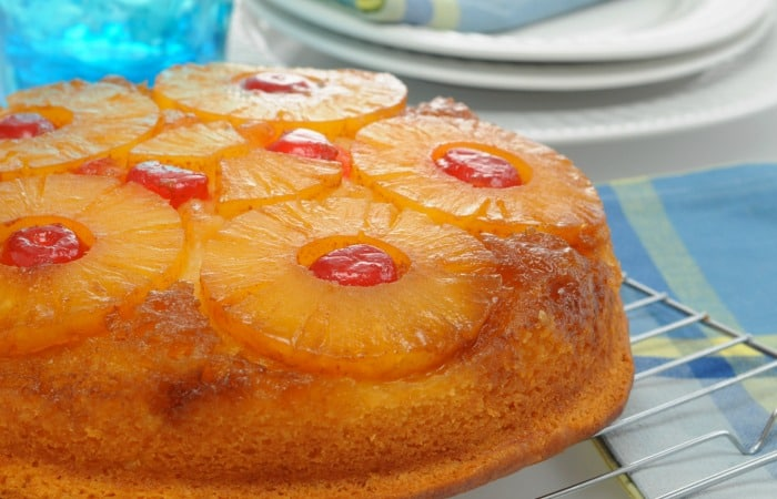 Moist And Fluffy Upside Down Pineapple Cake Recipe From Scratch