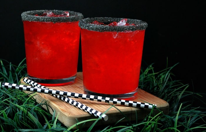 Pokeball Fruit Punch {Adult Beverage}