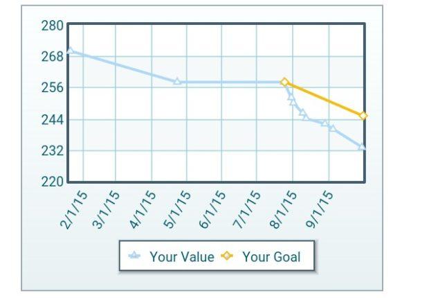 weightloss progress chart - Bire1andwap