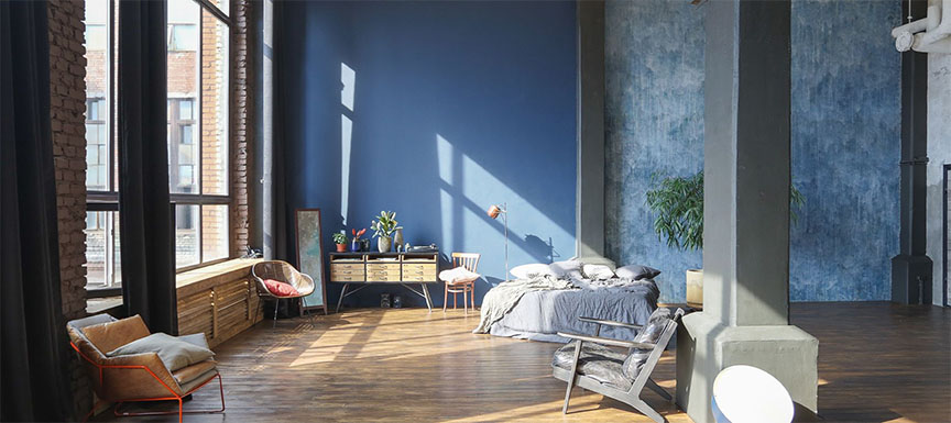 6 Best Blue Wall Paint Combination Schemes Kansai Nerolac
