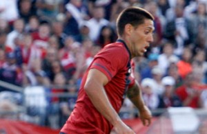 Clint Dempsey scored his 25th international goal in the USA's upset of Italy on Wednesday. (Photo: Chris Aduama/aduama.com)