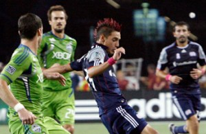 REVOLUTION AND SEATTLE SOUNDERS FC