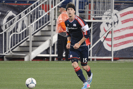 Revolution center back Stephen McCarthy will be called upon to help extend the club's shutout streak on Saturday against D.C. United. (Photo: Kari Heistad/capturedimages.biz)
