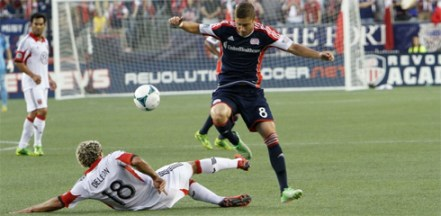Chirs Tierney and the Revolution will face D.C. United two more times this season as they seek to make the playoffs for the first time since 2009. (Photo: Chris Aduama/aduama.com)