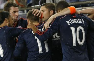 New England earned their fifth straight victory with Saturday's 2-1 win. (Photo: Chris Aduama/aduamaphotography.com)