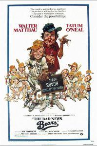 Bad News Bears Poster 1976