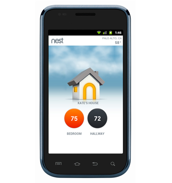Nest Mobile Android app  iPhone app updates Nest