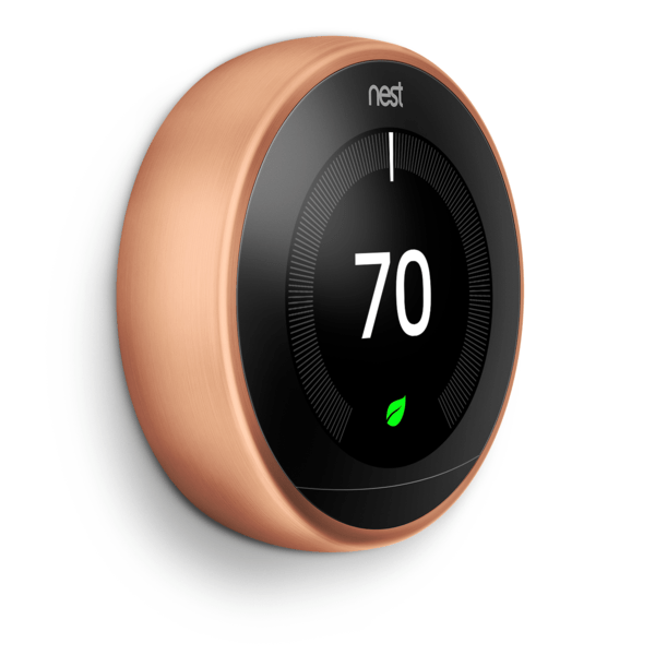 nest 3rd generation thermostat and c
