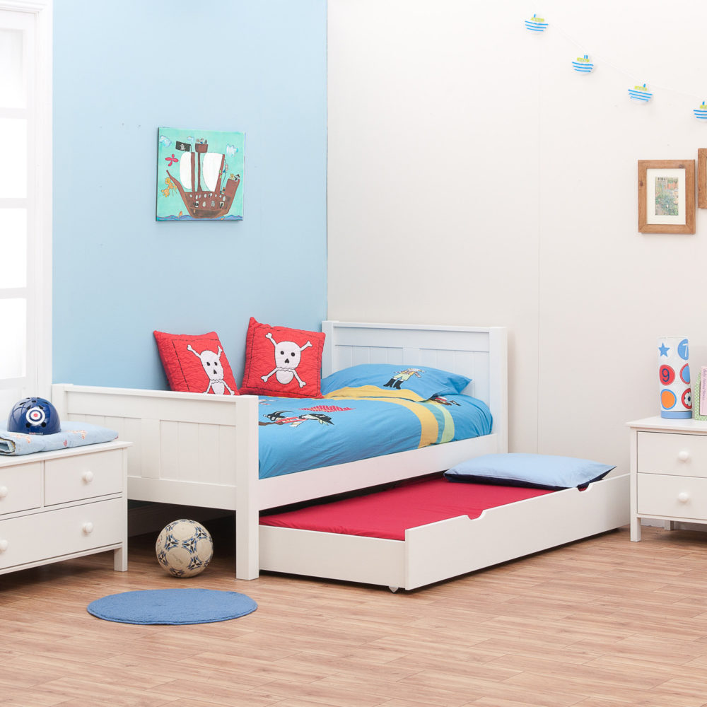 Stompa Classic Bunk Bed Classic Single Bed With Trundle Bed By Stompa