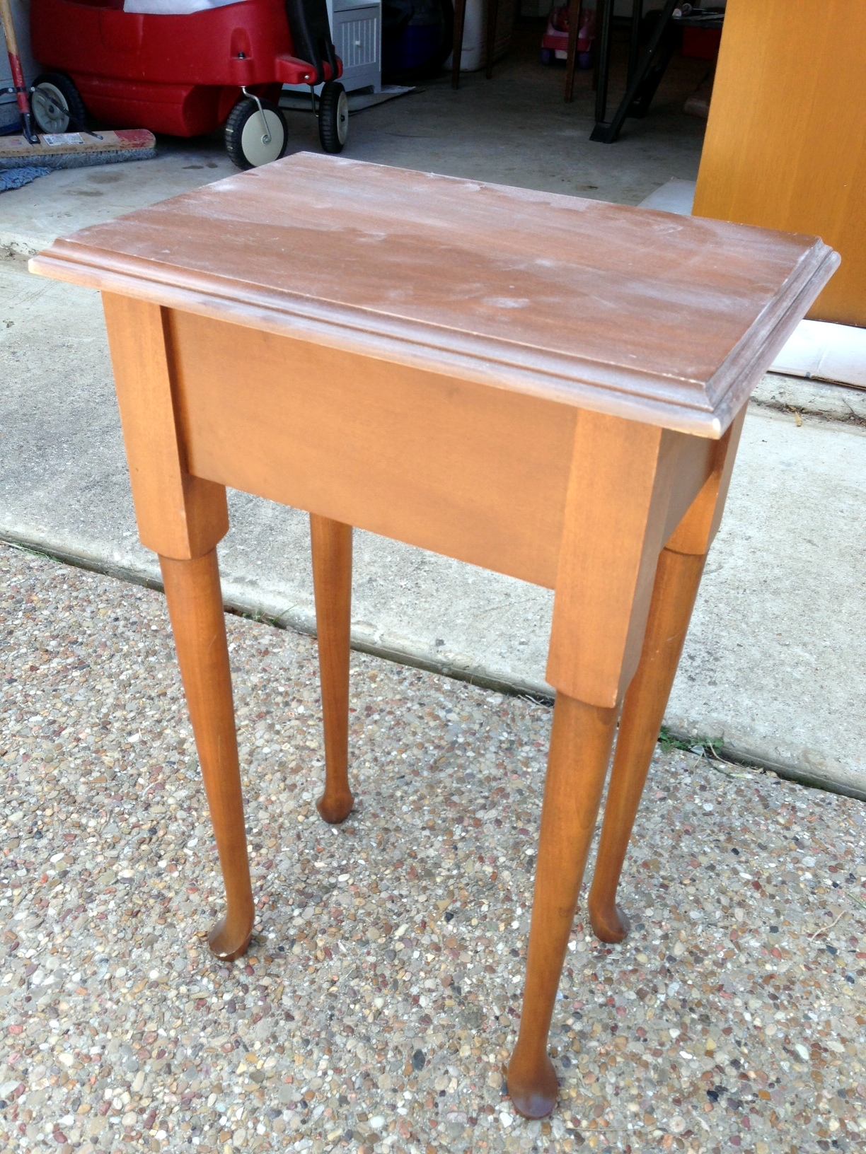 Coffee Table With Lid Side Table With A Twist For Sale A Nester 39s Nest