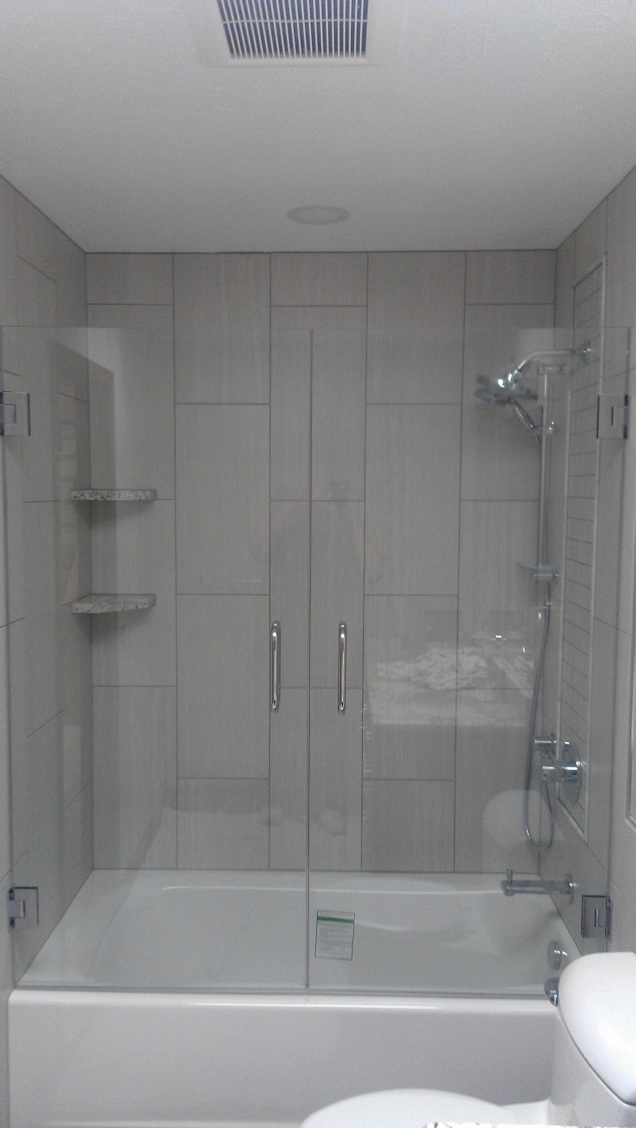 12x24 Tile Shower 12x24 Tile Shower Image Cabinets And Shower Mandra Tavern Com