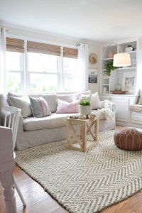 Jute Rug Review in Our Living Room - Nesting With Grace