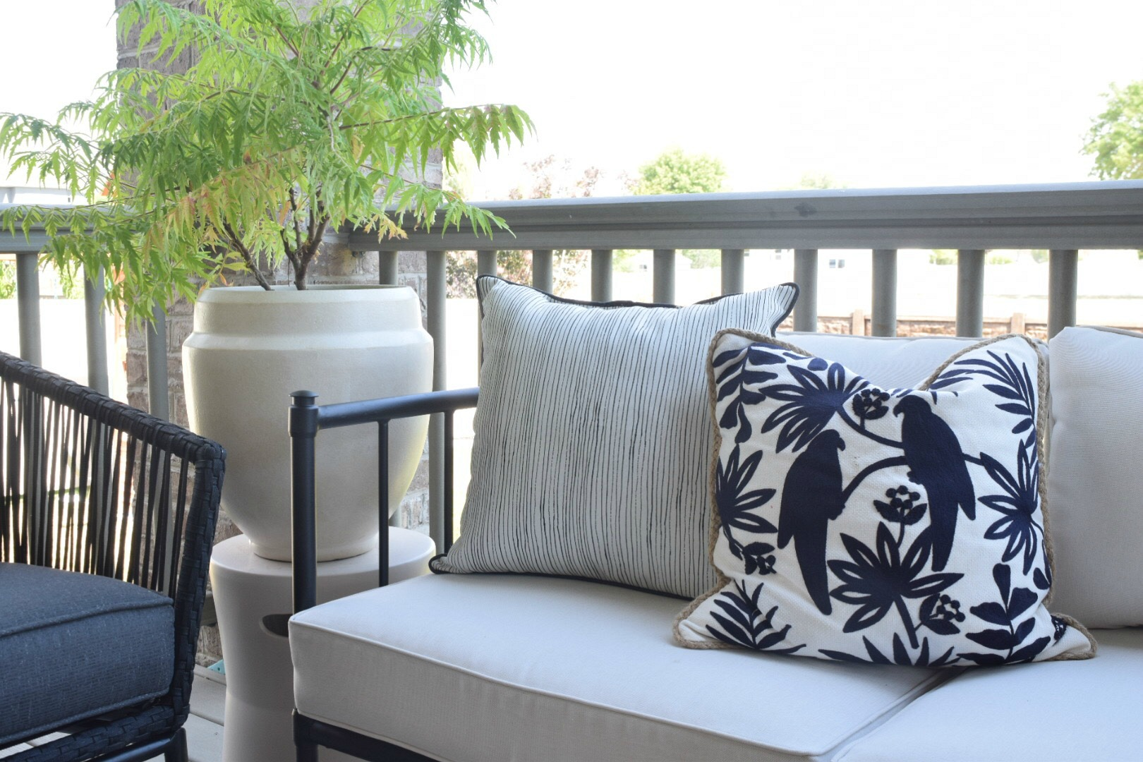 Hanging Outdoor Chairs Outdoor Patio And Living Space With Hanging Chair Nesting With Grace