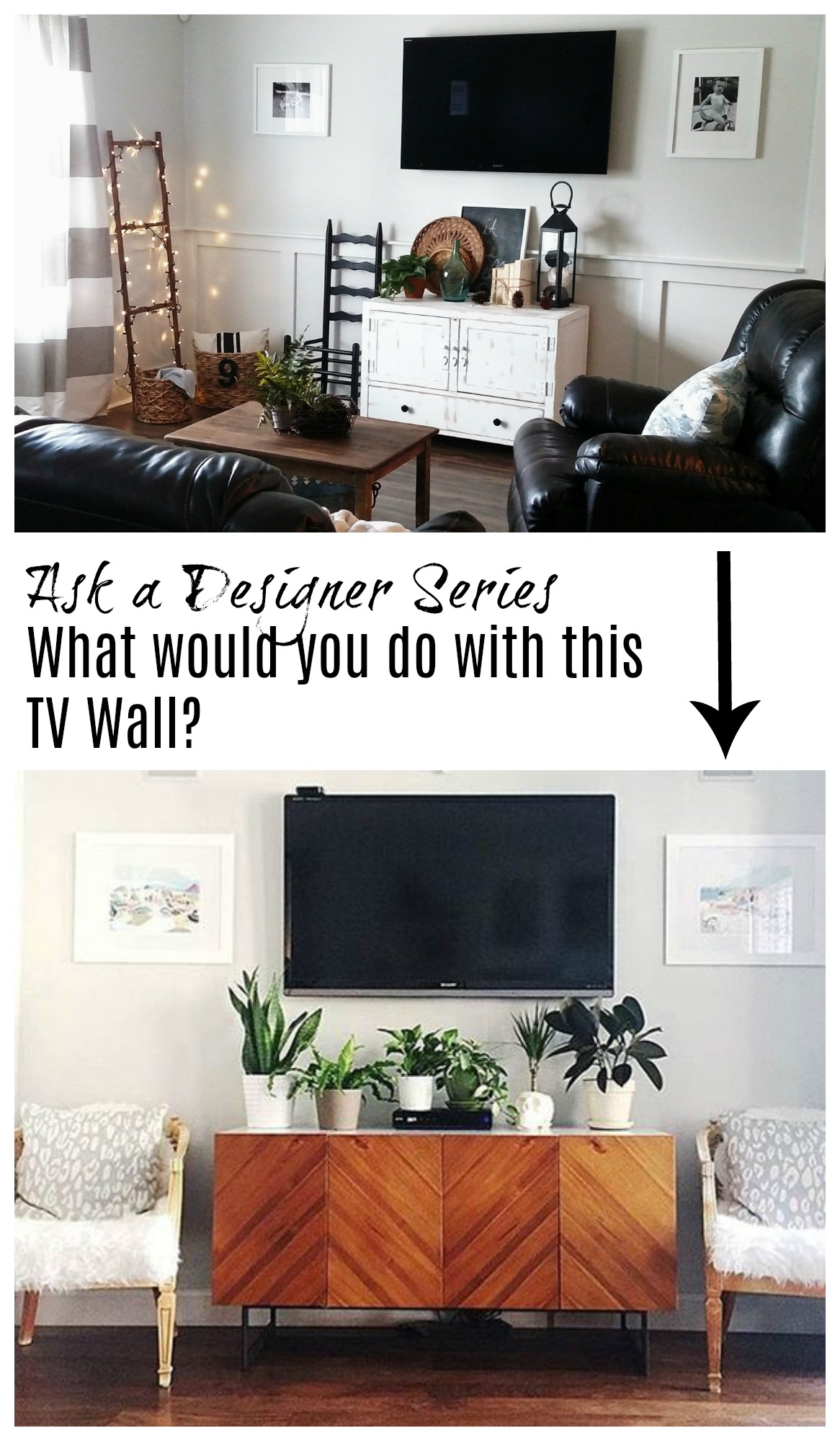 Wood Wall Behind Tv Ask A Designer Series Mistakes Made To Tv Walls Nesting With Grace