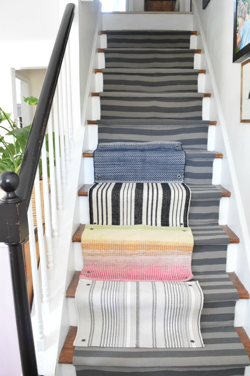 Stairs Rug Runners Learn From Our Mistakes When Installing A Stair Runner Nesting