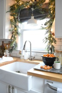 Christmas in our Small Kitchen- Started with Christmas ...