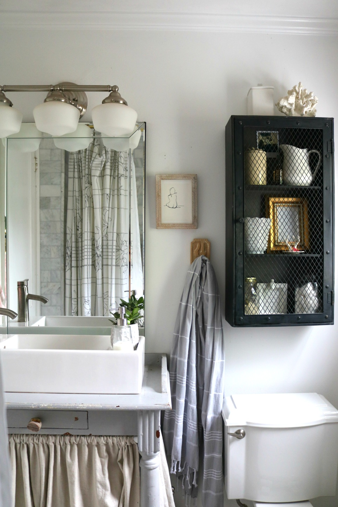 Bathroom Ideas With Shower Curtains Friday Favorites Starts With New Shower Curtain Nesting With Grace