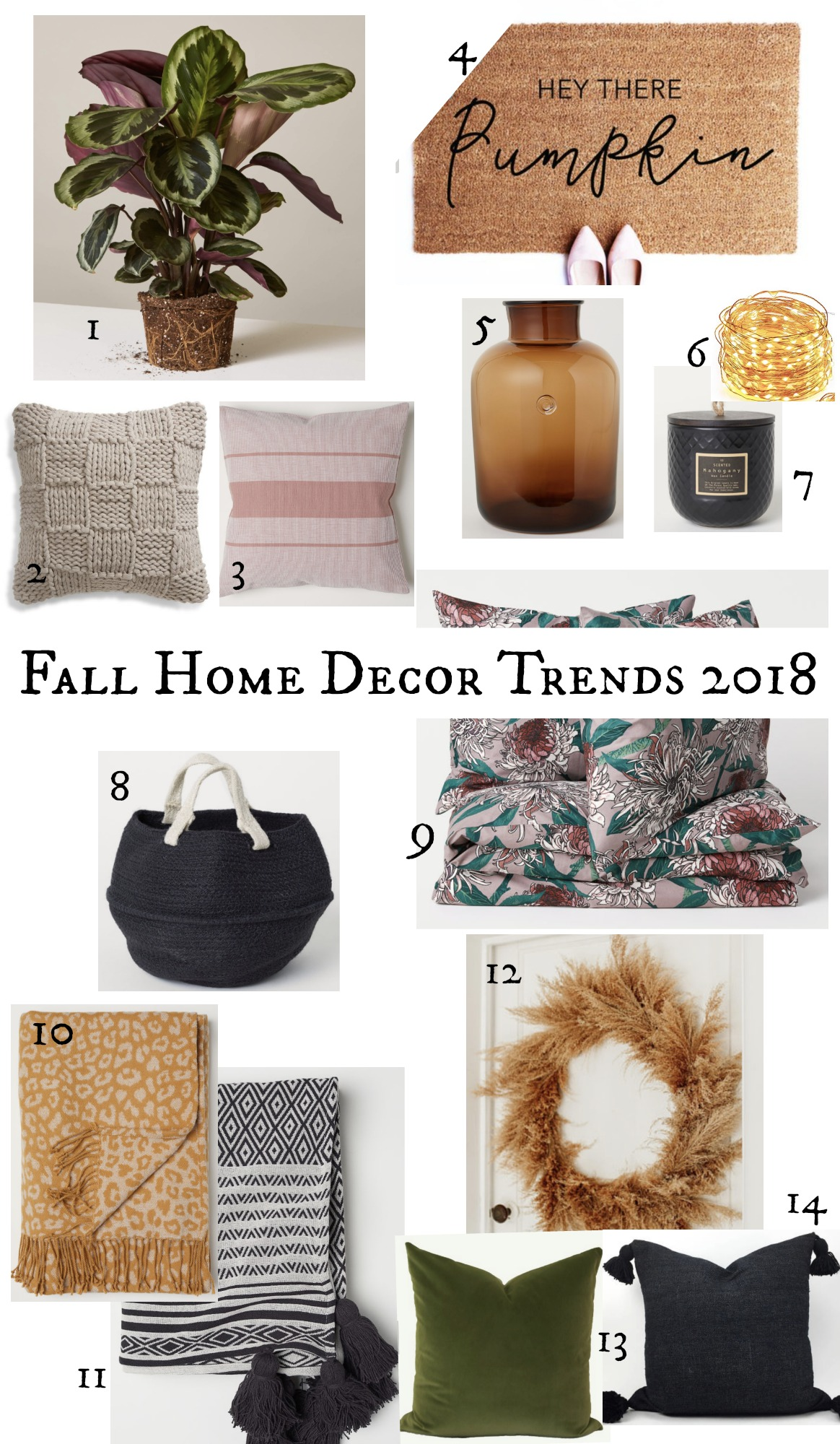2018 Home Decor Color Trends Friday Favorites 10 Fall Home Decor Trends 2018 Nesting