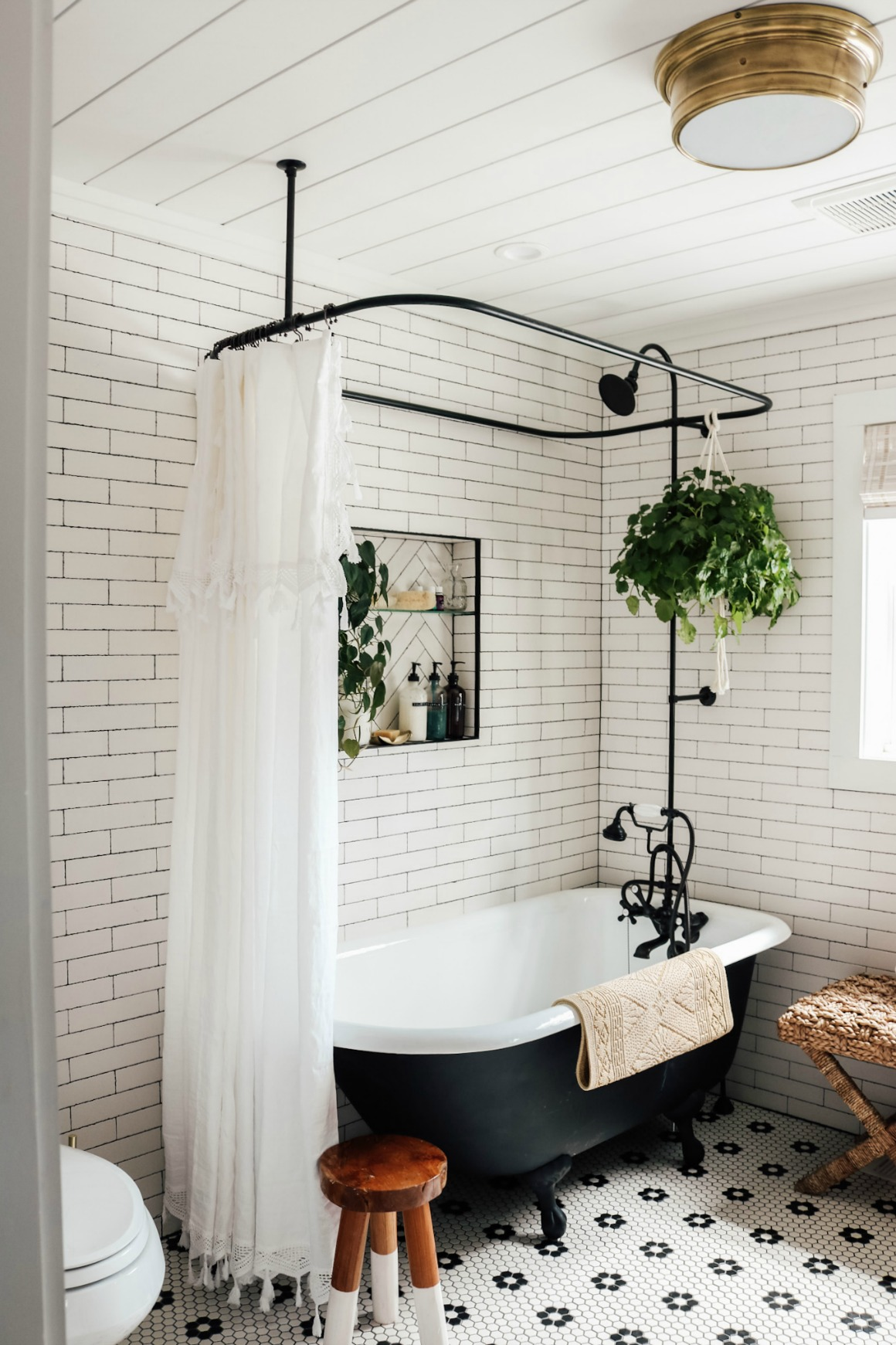 Master Bathroom Reveal With Claw Foot Tub Nesting With Grace
