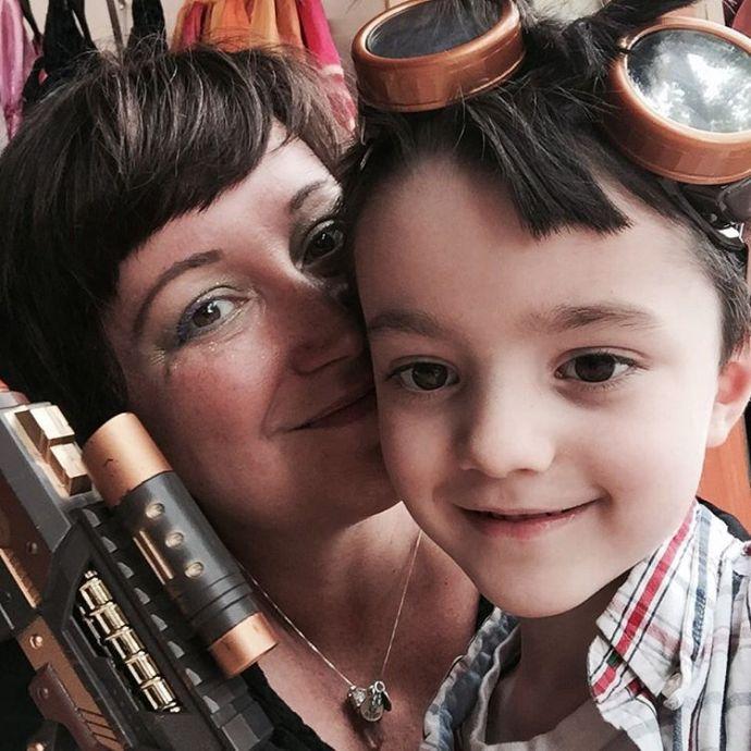 My handsome little steampunk gent bristolrenaissancefaire bristolren lifewithboys motherson