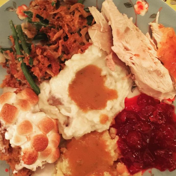 So proud of itssophia Amazing Thanksgiving meal all from scratchhellip