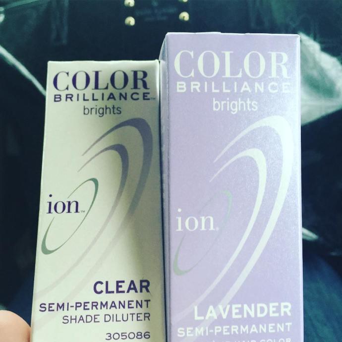 The next fun haircolor instahair ioncolorbrilliance lavenderhair lavenderhairdontcare