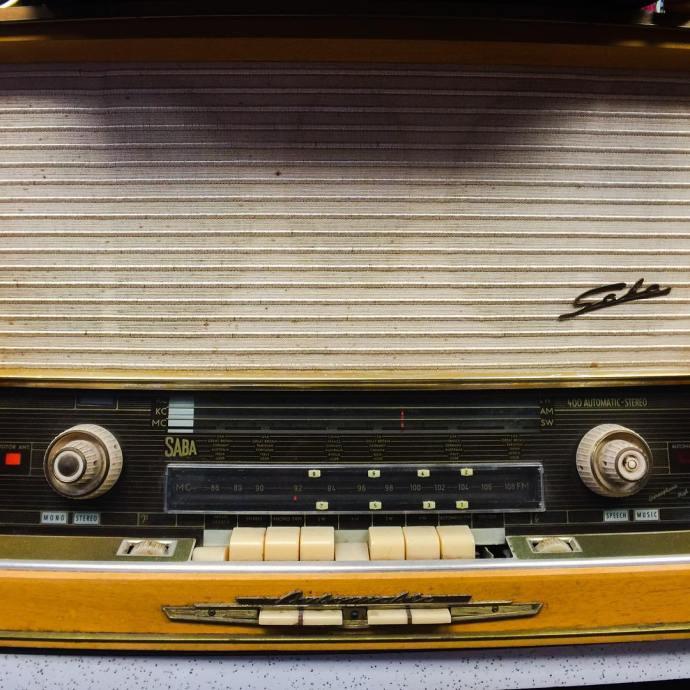 Vintage Saba radio original to the barbershop vintageradio saba barbershophellip
