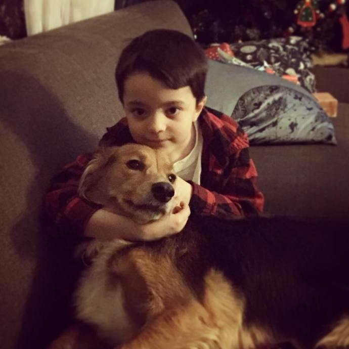 Best friends lifewithboys instadog muttsrule family
