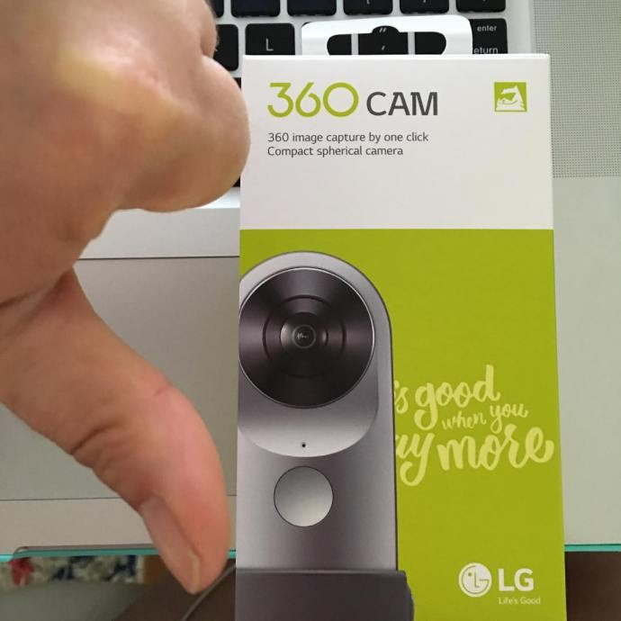 Mega bummer After preordering months ago turns out the lg360camhellip
