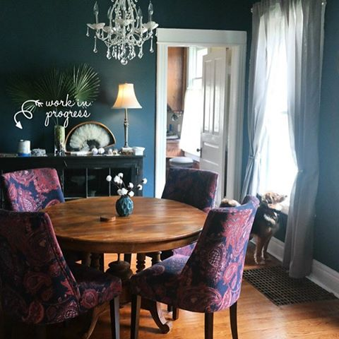 Dining room update on the blog! alanawpipercom  clickable linkhellip