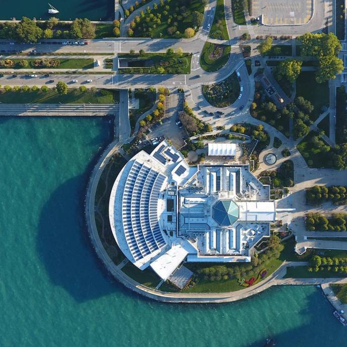 The Shedd  dronestagram aerialphotography