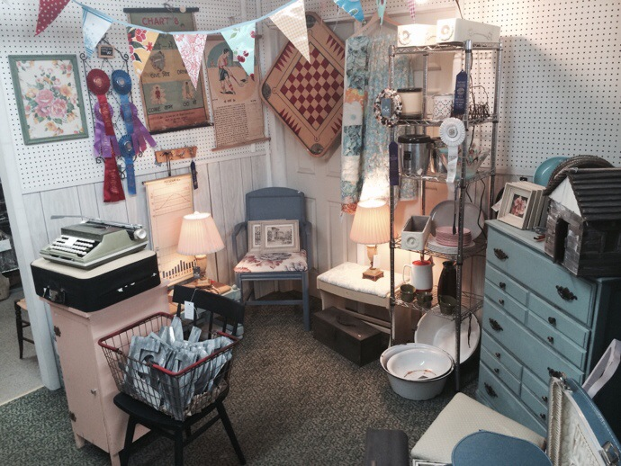 Fresh peek: my booth at Jackson Square Mall in La Grange, IL