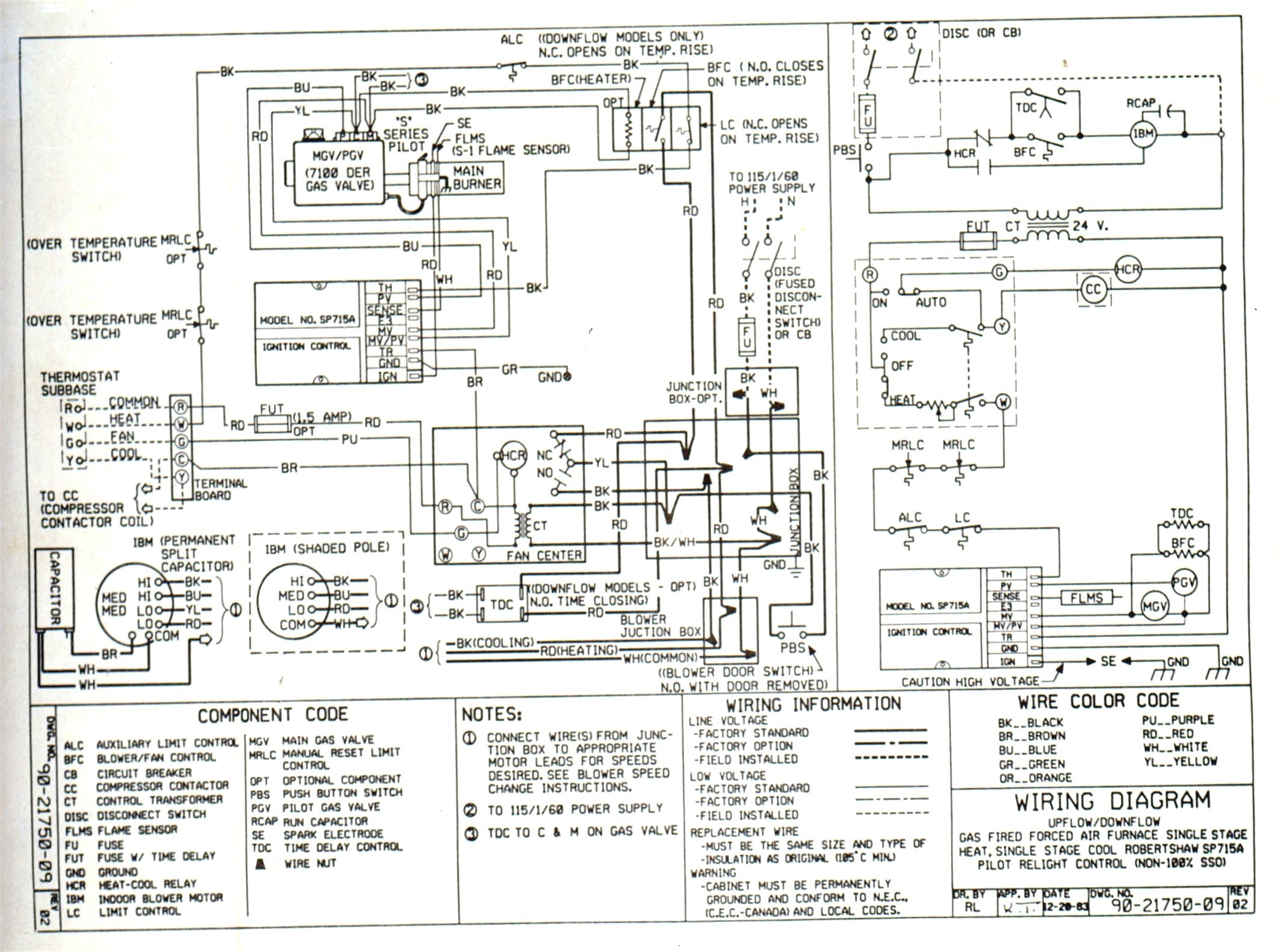 heat pump thermostat 1h 1c wiring diagrams
