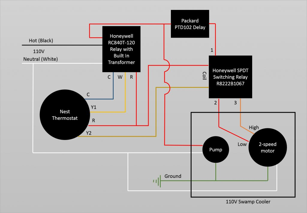 110v Relay Wiring Diagram | mwb-online.co on