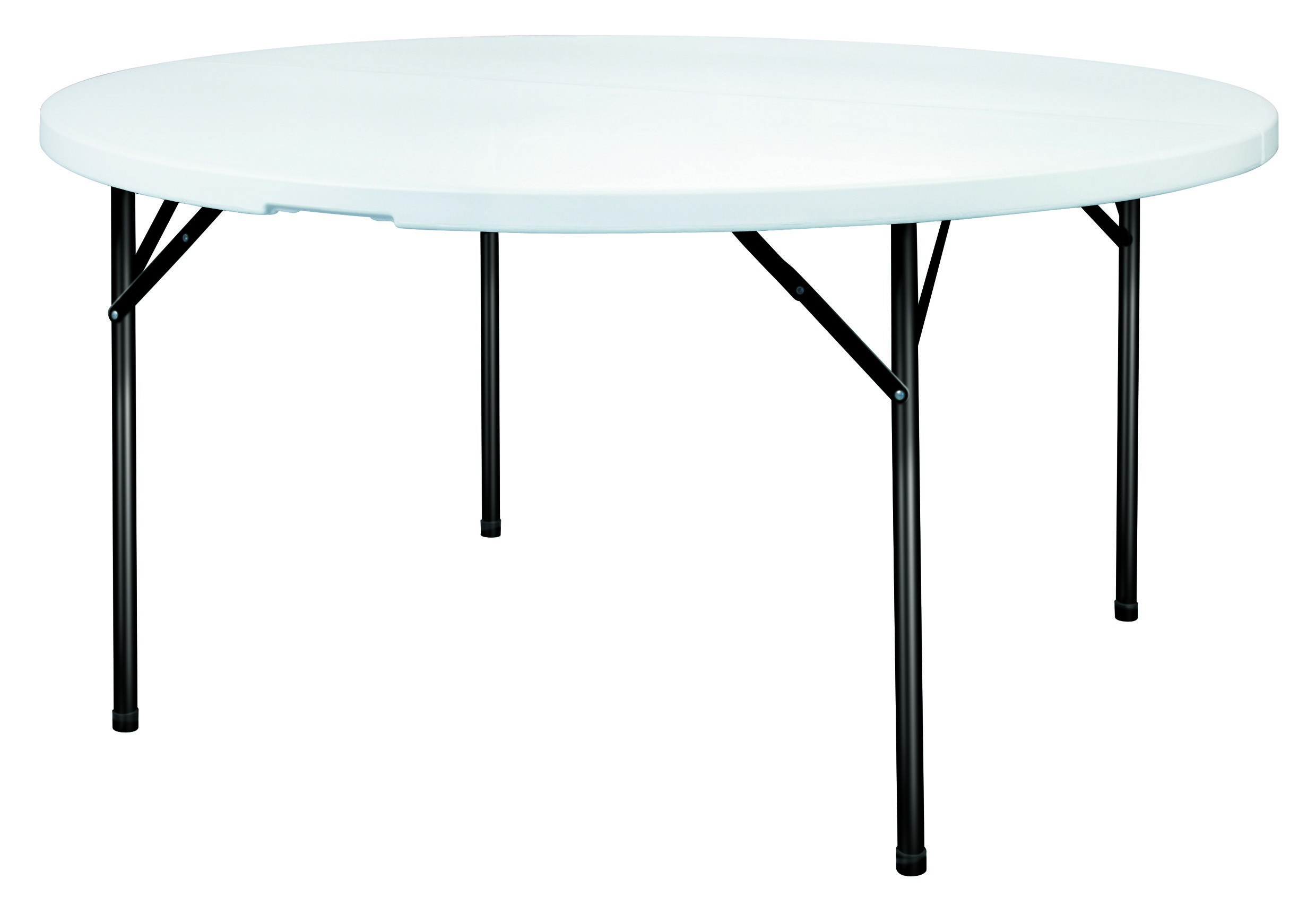 Table Pliante Légère Table Ronde Polypro Table En Polypropylène Table Pliante En