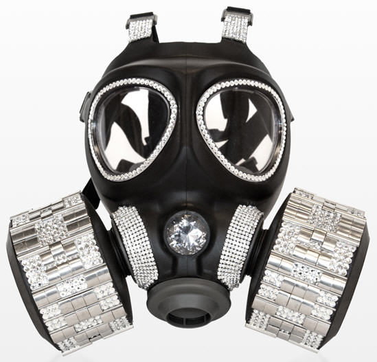 Designer Gas Masks Signature Fashion For The Armageddon