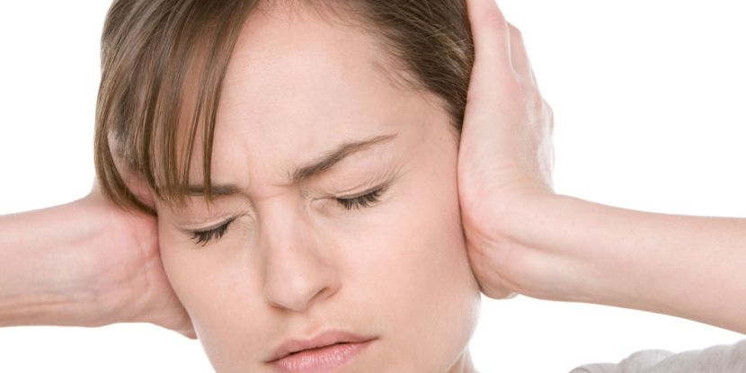 Tinnitus (the is are short, and it's tin as in tin can) is a ringing in the ears 1