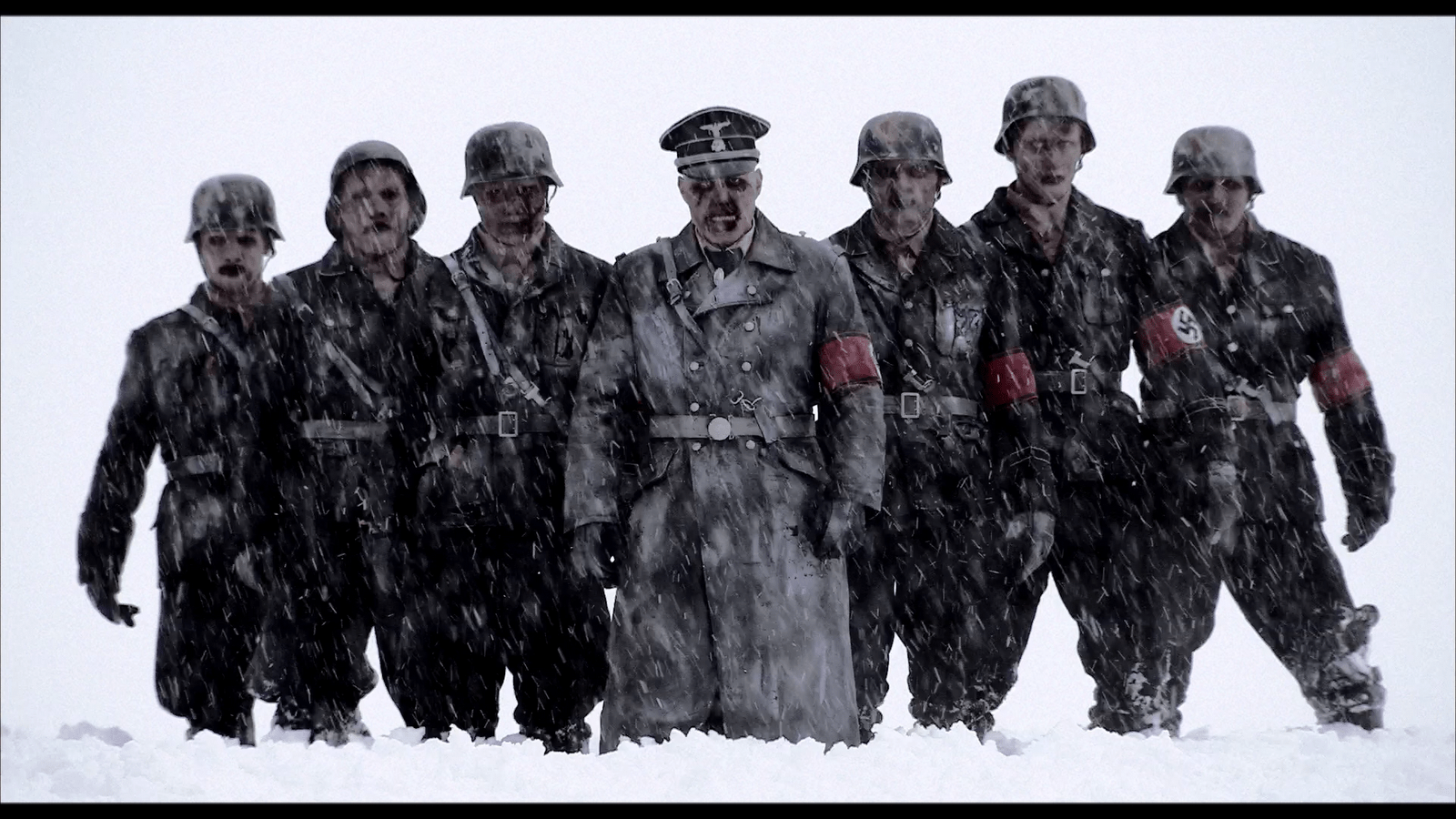 Black And Mustard Wallpaper Netflix Scary Movie Of The Week Dead Snow And Dead Snow 2
