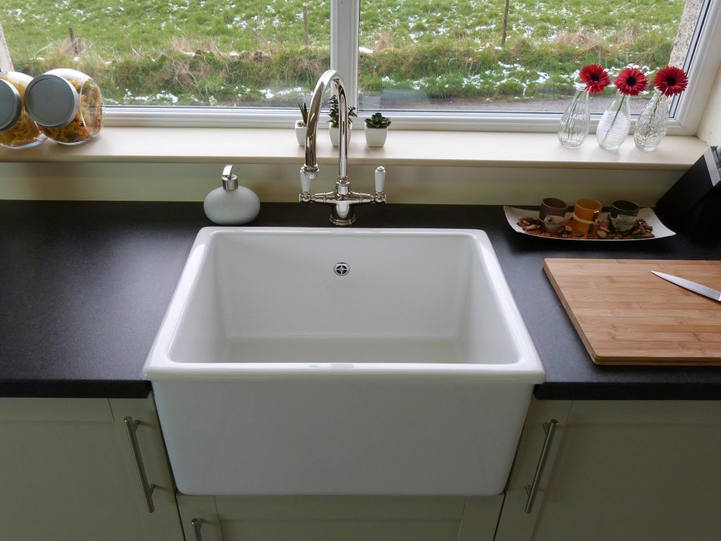 Double Butler Sink Shaws Launch Whitehall Butler Sink For Laminate Worktops