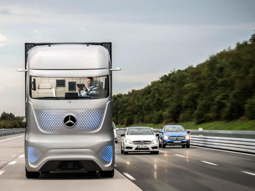 Daimler's Future Truck 2025