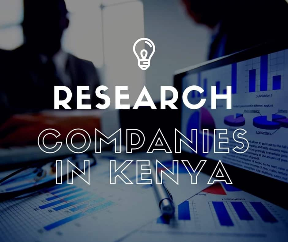 List of market research companies in Kenya 2018 ▷ Tukoke