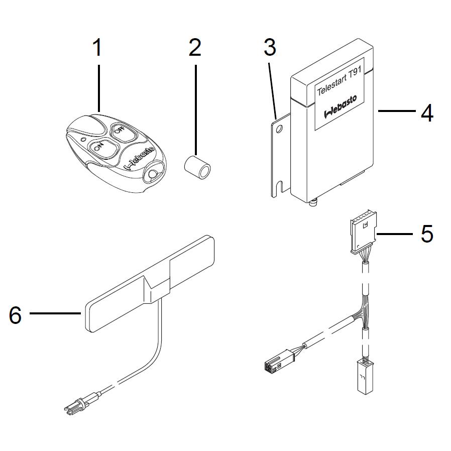 webasto t91 wiring diagram