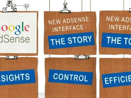 Skjermbilde av Google Adsense