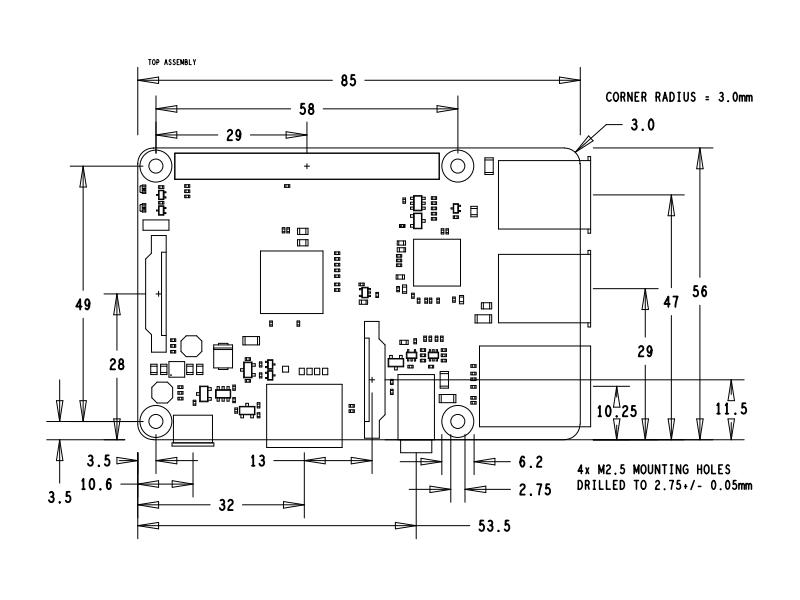 raspberry pi 2 model b circuit diagram