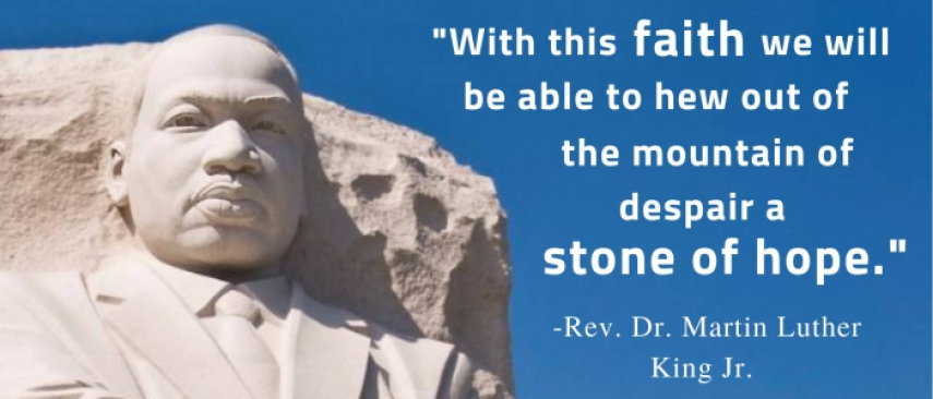 MLK Day 2019 A Stone of Hope The Network