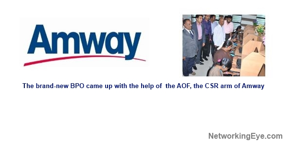 Amway India Established a BPO for the Visually-Challenged at Madurai