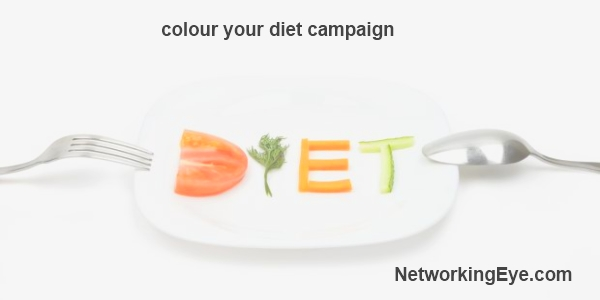 Colour your diet campaign amway